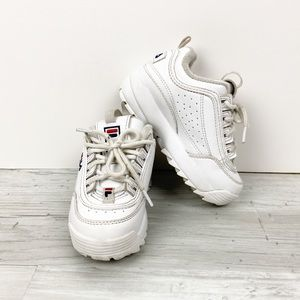 Fila Toddler Size 9 Disruptor Shoes
